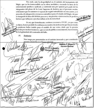 Declaraciones juradas: apriete de diputados se debe denunciar ante Fiscalía, dice constitucionalista