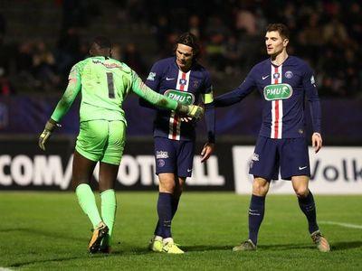Cavani y Meunier fuera de la lista de Champions del PSG
