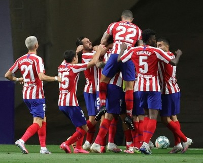 Atlético de Madrid trepa al tercer lugar