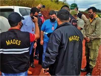 Tras acuerdo, indígenas desocupan        predio de Parque       Nacional Ñacunday