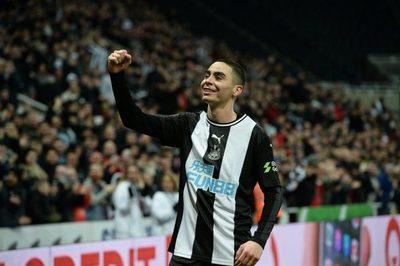 Buen rendimiento de Miggy para la goleada del Newcastle