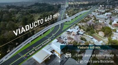 Obras del Corredor Vial Botánico presentan 50% de avance