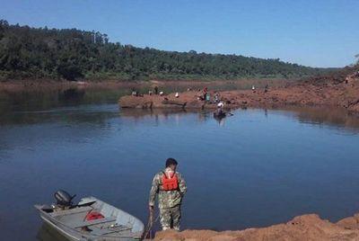 Adolescente desaparece en aguas del río Paraná