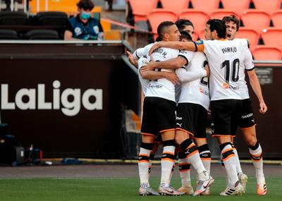 Los goles de Valencia 2-0 Osasuna