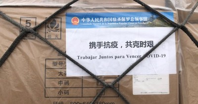Senadores del FG recibirán donación de China Popular