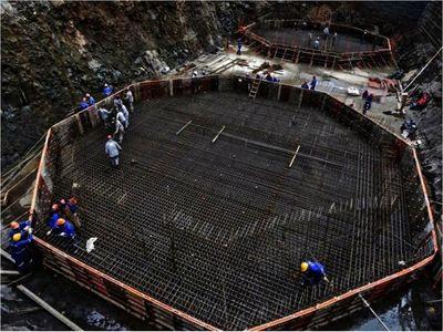 Avanza construcción de la base del Puente de la Integración