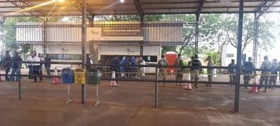 Funcionarios de zonas fronterizas fueron sometidos a monitoreo y test de covid-19
