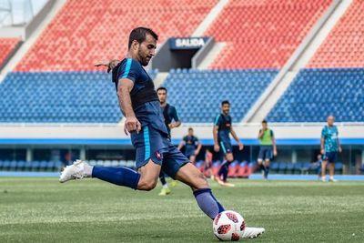 Raúl Cáceres viaja el martes con destino a Belo Horizonte