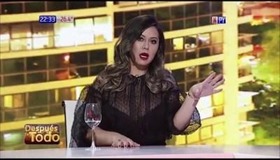 Liliana Álvarez quiere incursionar en el periodismo político