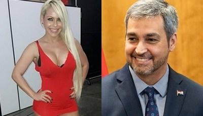 Perla Alegre le dedicó un mensaje a Mario Abdo Benitez