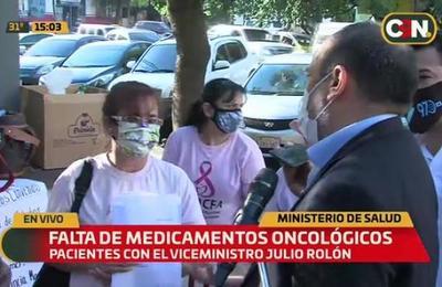 Falta de medicamentos oncológicos: Ministerio de Salud realizará compras vía abreviada