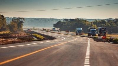 Obras en Ruta 2 Caaguazú avanzan 93% en su ejecución