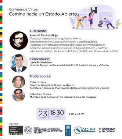 Conferencia sobre Gobierno Abierto