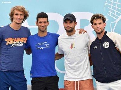 Djokovic organizó un torneo que terminó con varios tenistas contagiados con COVID-19