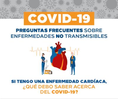 Cómo afecta el COVID-19 a personas con enfermedad cardíaca