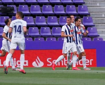 Getafe rescata un punto en su visita al Valladolid