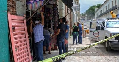 Sismo de 7,5 sacude a México y añade más ansiedad a la pandemia