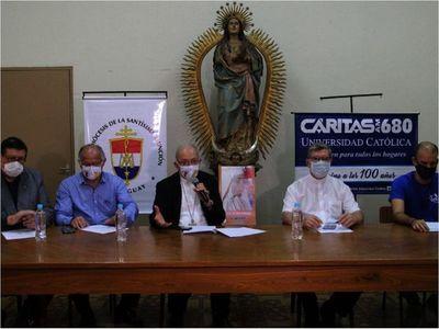 Arzobispado organiza masiva automisa en el Silvio Pettirossi