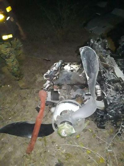 Hombre muere calcinado tras accidente aéreo en el Chaco