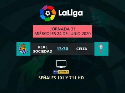 Real Sociedad y Celta de Vigo van por puntos valiosos