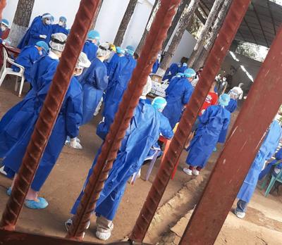 Covid-19: Inician toma de muestras en la cárcel regional