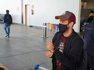 Raúl Cáceres llega a Brasil para encarar un nuevo desafío