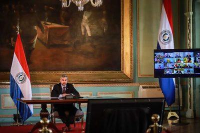 Presidentes piden más apoyo de organismos internacionales para enfrentar efectos de la pandemia