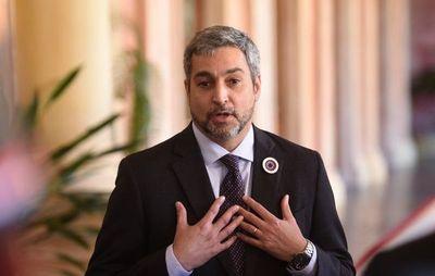 Declaración jurada de Mario Abdo corresponde a periodo en el Senado