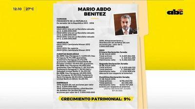 Las Declaraciones Juradas de Marito y los expresidentes