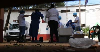 Unas 700 muestras de COVID-19 fueron tomadas hoy en Alto Paraná