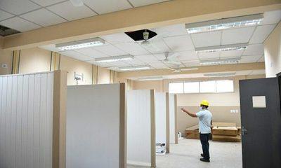 Ultiman detalles para habilitar obras de ampliación en Hospital Distrital de Hernandarias