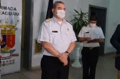 Comandante de la Armada ordenó investigación por caso de los 7 militares contagiados en Ayolas