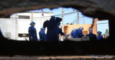 Guardias del Penal con COVID-19 siguen trabajando