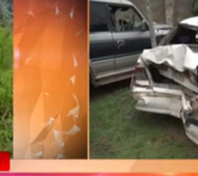 Areguá: Madre e hijo pierden la vida en brutal accidente