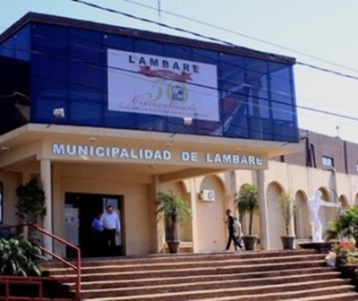 Respiro en la Municipalidad de Lambaré