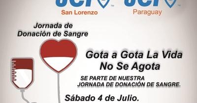 Invitan a donar sangre