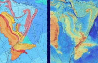Publican mapa de Zelandia, el 'continente sumergido' en el océano