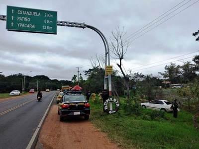 Auto atropella a familia entera y mueren madre e hijo en Areguá • Luque Noticias