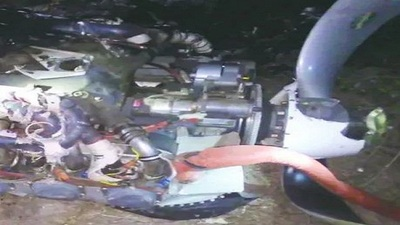 Accidente aéreo: piloto iba a robar el avión, según el dueño