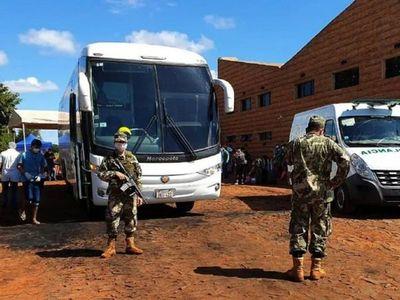 Militar imputado por violar cuarentena irá a la cárcel de Viñas Cué