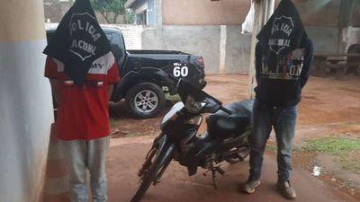 Asaltantes de transportadores de lácteos fueron detenidos