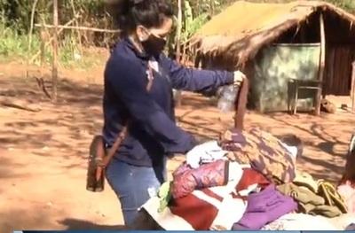 Realizan colecta para indígenas en Franco