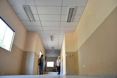 Obras de ampliación del hospital de Hernandarias serán habilitadas en breve