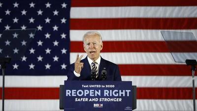 Biden amplía su ventaja frente a un Trump erosionado por la crisis