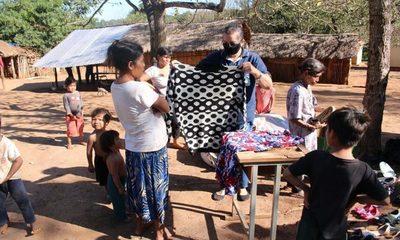 Municipalidad de Franco entrega donación de ropas y calzados a sus comunidades indígenas – Diario TNPRESS