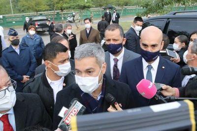 Mario Abdo confirmó que vetará anulación de facturas de ANDE y ESSAP