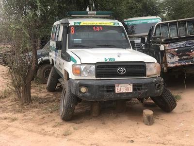 """XVI Región Sanitaria: Ambulancias sin ruedas ni motor """"recibían"""" carga de combustible"""