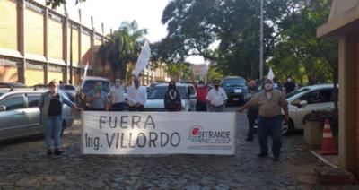 HOY / Afirman una vez más que ya no están dispuestos a trabajar con el presidente Luis Villordo