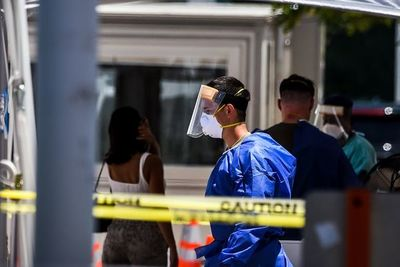 Preocupante récord en Florida con casi 9.000 casos en un día