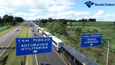 En BRASIL ya decomisaron en 2018 más de 120 colectivos de SACOLEIROS